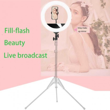 Beike QZSD 14in 36cm Ring Light with Phone Holder 144 beads 13w Dimmable Led Photography Ring Light Good Quality Selfie Stick Ring Fill Light Live Broadcast