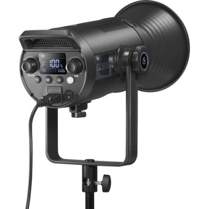 Godox SL150II Bi-Color LED Video Light, SL150BII 150W Bowens Mount Light, Built-in 9 Fx Effects, 2800k~6500k, W/Pergear Color Filters