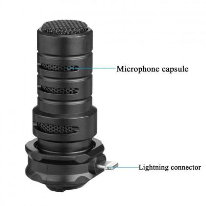 PREMIUM VLOG KIT FOR IPHONE MICROPHONE TRIPOD PHONE CLIP HOLDER FOR SMARTPHONE VLOG LIVE STUDIO VIDEO