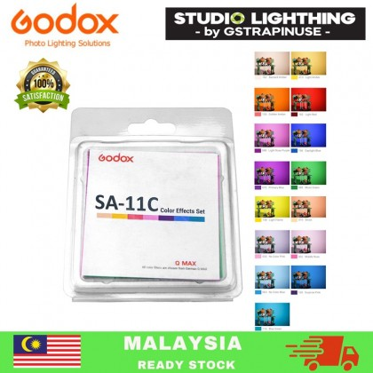 Godox SA-11C Color Filters Color Effects Set for Godox S30 Focusing LED Video Light