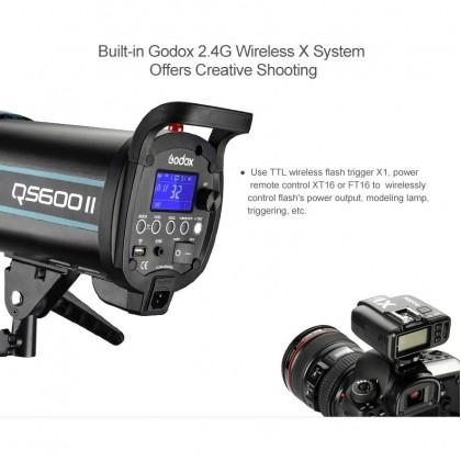 GODOX QS400II 400W STUDIO SINGLE STROBE LIGHT KIT