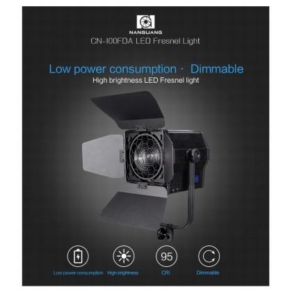 NANGUANG CN-100FDA LED Fresnel Light 100W