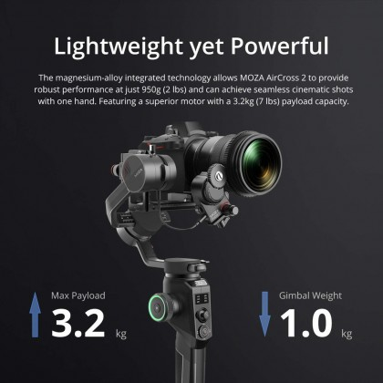 NEW MOZA AirCross 2 Kit iFocus-M Follow Focus Motor for Moza Air 2 AirCross2 DSLR Gimbal Stabilizer Lens Control System