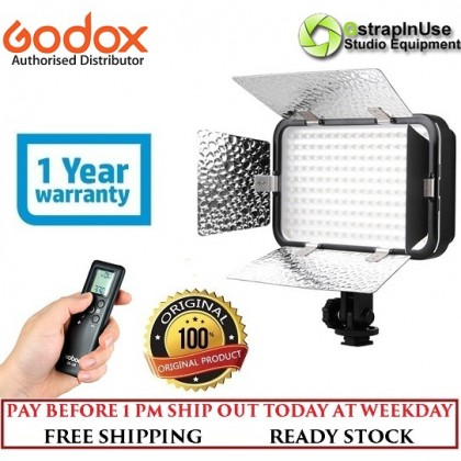 GODOX LED308C II VIDEO LIGHT 3300K~5600K CHANGEABLE COLOR LED TEMPERATURE