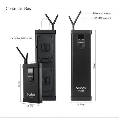 Godox VL300 VL-300 300W 5600K White Version LED Video Light Continuous Output Bowens Mount Studio Light APP Support