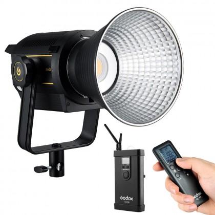Godox VL150 150W 5600K CRI96 TLCI 95 White Version LED Video Light Continuous Output Bowens Mount Studio Light