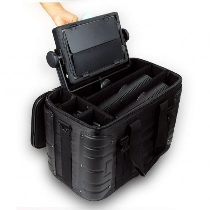 Godox CB-08 Carrying Case Strong Protective with Shoulder Strap and Portable handle strap For panel LED light