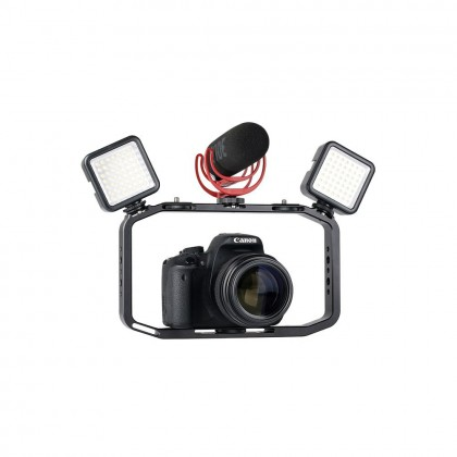 ULANZI M-RIG STABILIZER RIG MINI HOLDER WITH CLIP MOUNT COLD SHOE FOR MOBILE PHONE FOR GOPRO SPORT ACTION CAMERA