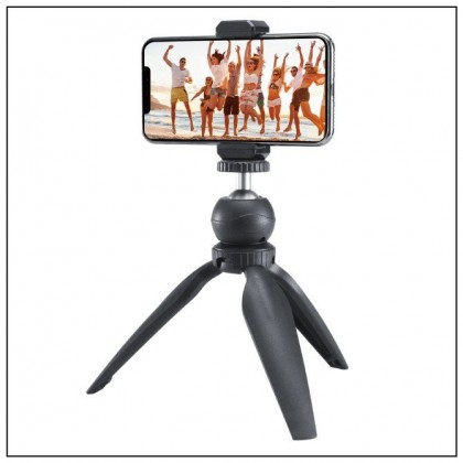 Ulanzi MT-01 1574 360 Degree Rotation 1/4 Standard Screw Mini Desktop Tripod with Tripod Ball Head for Smartphone Camera