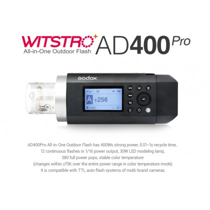 Godox AD400Pro 400W Outdoor Strobe Flash
