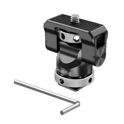 SmallRig BSE2346 Swivel and Tilt Monitor Mount with Cold Shoe