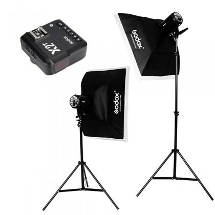 Godox QS400II 400W Studio Strobe Kit Free X2T Transmitter
