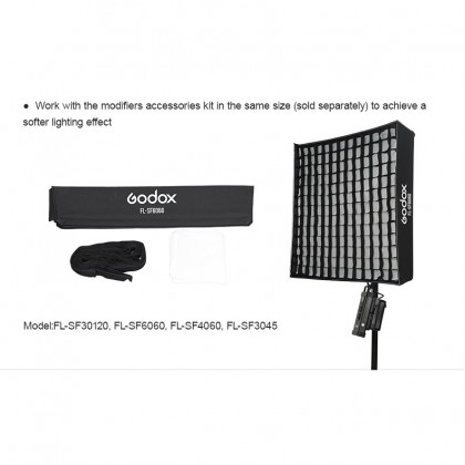 Godox FL150R 150W Flexible LED Video Light 3300-5600K Bi-color Foldable with 2.6m Light Stand