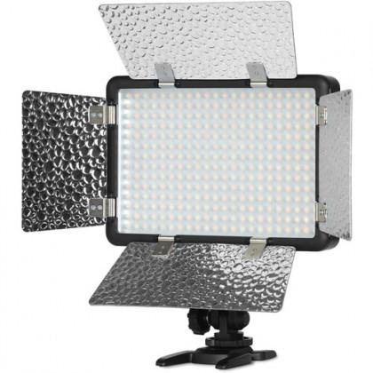 Godox LF308Bi Bi-Color Temperature LED Flash Light Photography Fill-in Lamp Video Light 3300-5600K Smartphone APP/ 2.4G Wireless