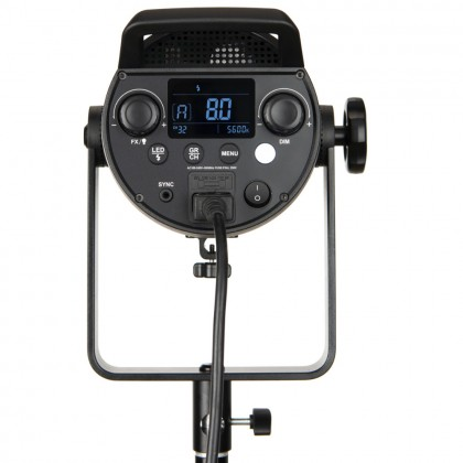 Godox FV150 + 2.6m Basic Light Stand High Speed Sync Flash LED Light with Built-in 2.4G Wireless Receiver + Remote Control