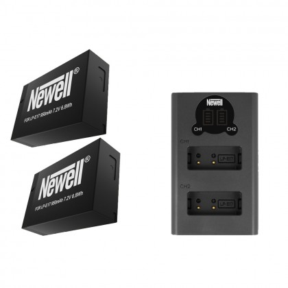 Newell LP-E17 Battery Camera Battery Pack For Canon EOS RP, 760D, 750D, M3, 77D