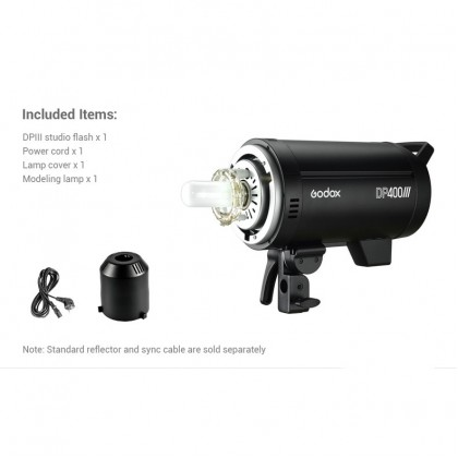 Godox DP400III 400W (ONLY) Light Kit 2.4G Built-in X System Studio Strobe Flash Light for Photography Lighting Flashlight
