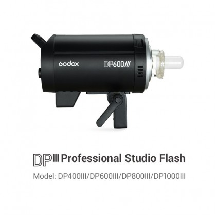 GODOX DP600III 600W (ONLY) LIGHT STUDIO STROBE KIT